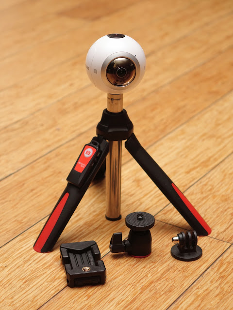Benro MK10 is especially useful for 360 cameras because of its removable ballhead.