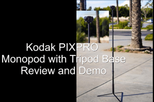Video review and demo of the Kodak PIXPRO