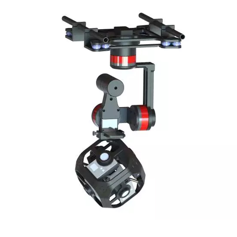 Wenpod Tarzan-A is a stabilized gimbal for 360 aerial videos