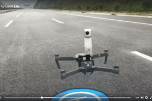 Insta360 Nano aerial 360 mount with DJI Mavic Pro