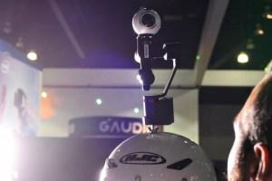 Wearable base for Guru 360 gimbal for 360 cameras