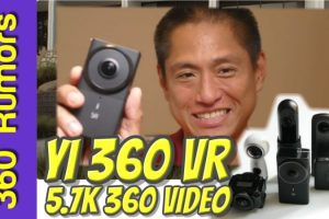 YI 360 VR In-depth hands-on review and sample video