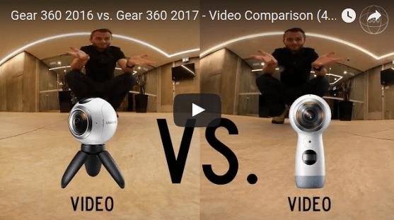 Life in 360 compares the 2017 Gear 360 vs original Gear 360