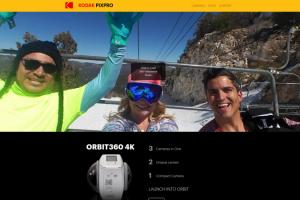the new Orbit360 (4KVR360) mini site