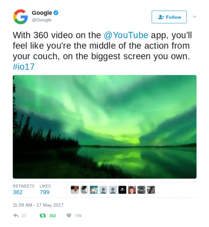 Watch YouTube 360 videos on your TV