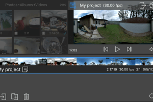 LumaFusion video editor for iOS now supports 360 video editing