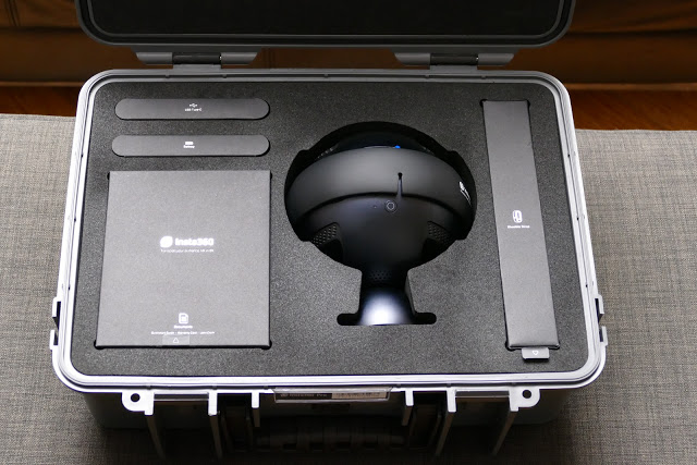 Insta360 Pro has many remarkable undocumented features