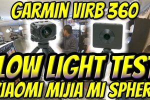Garmin Virb 360 vs. Xiaomi Mijia MI SPHERE - which is the best 360 camera for low light?