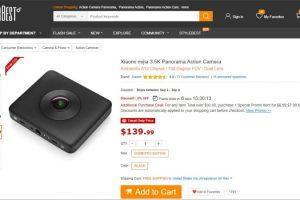 Xiaomi MiJia i Spherical Camera Sale