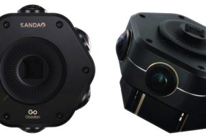 Kandao Obsidian GO Affordable Professional 4K 3D 360 Camera