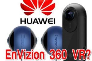 Huawei Envizion 360 camera: a modified Insta360 ONE?