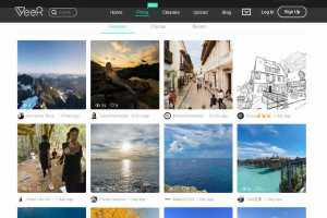 Share both 360 photos and videos with Veer