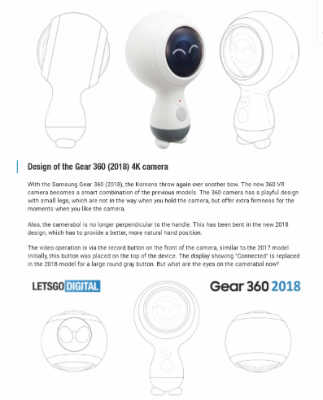 Is this the new 2018 Samsung Gear 360 design?