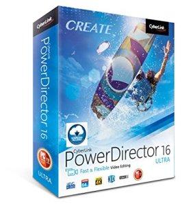 Cyberlink Powerdirector 16 Ultra features 360 video stabilization