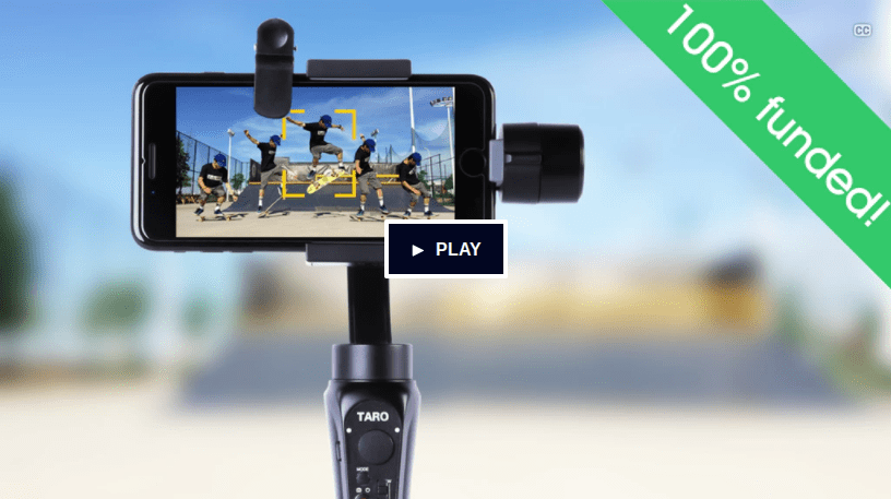 Track moving subjects automatically with Taro AI robotic cameraman