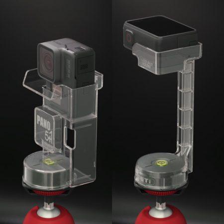 Pano5+1 mk II panoramic head for GoPro