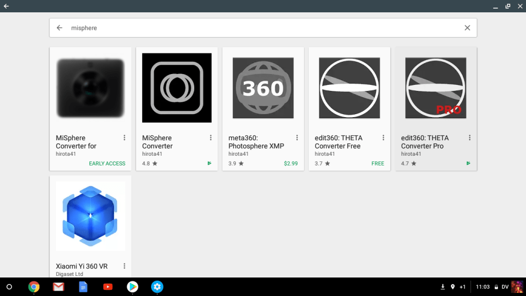 Some of the Android apps you can use on Chromebook