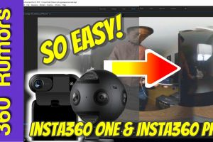 Insta360 ONE and Insta360 Pro log mode tutorial