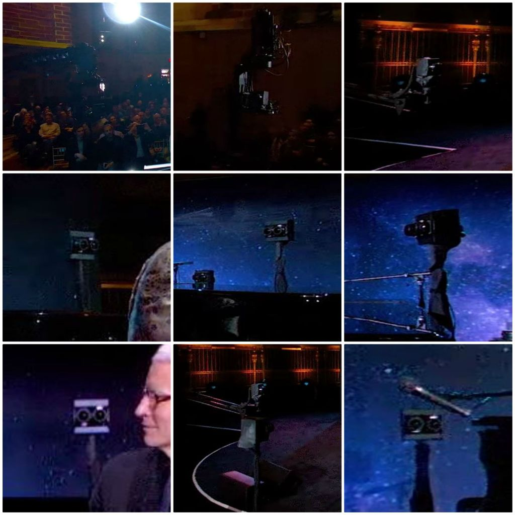 The Google VR180 cameras used in Elton John's video