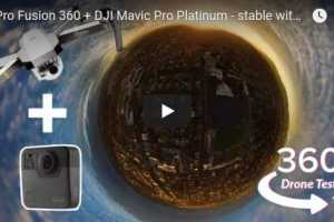 360 aerial video with invisible drone and just one 360 camera