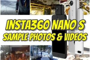 Insta360 Nano S sample photos and videos