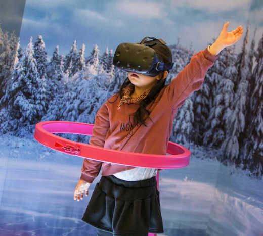Winter Olympics in 360 VR video