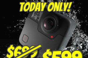 Discount on GoPro Fusion and other cameras