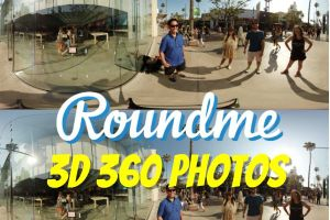 Roundme now supports 3D 360 photos