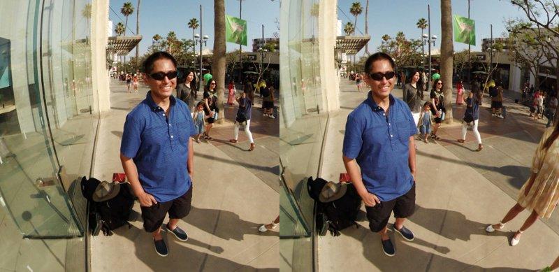 3D 360 photo screenshot
