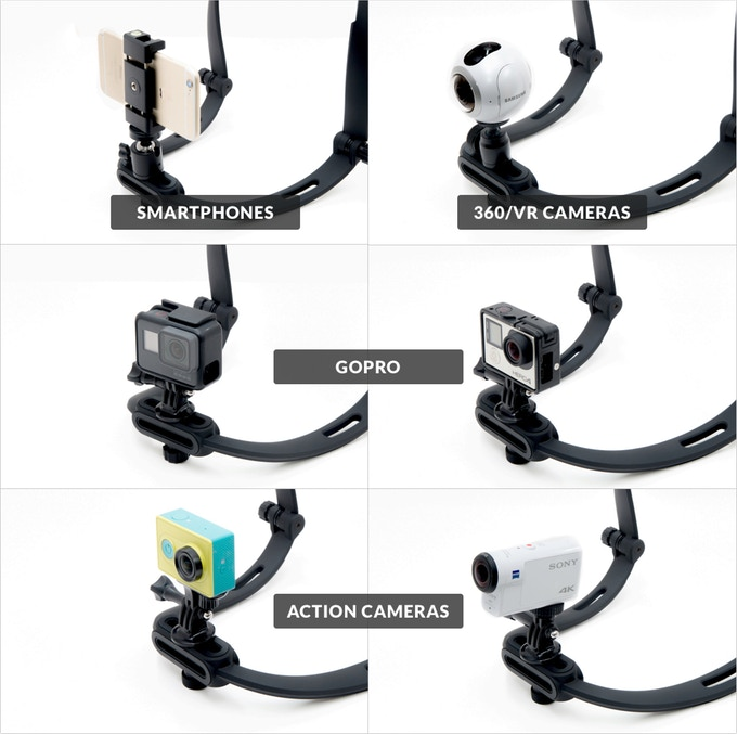 Seldi mount is compatible with many types of cameras