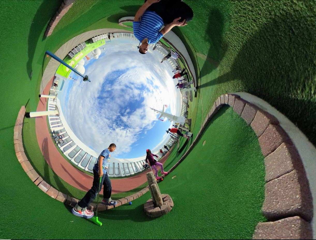 360 cameras are excellent for cruises