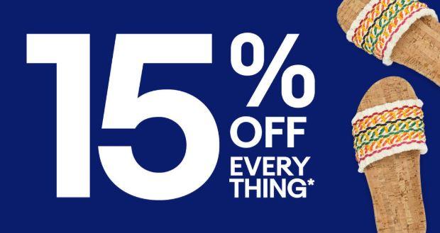 eBay 15% discount code