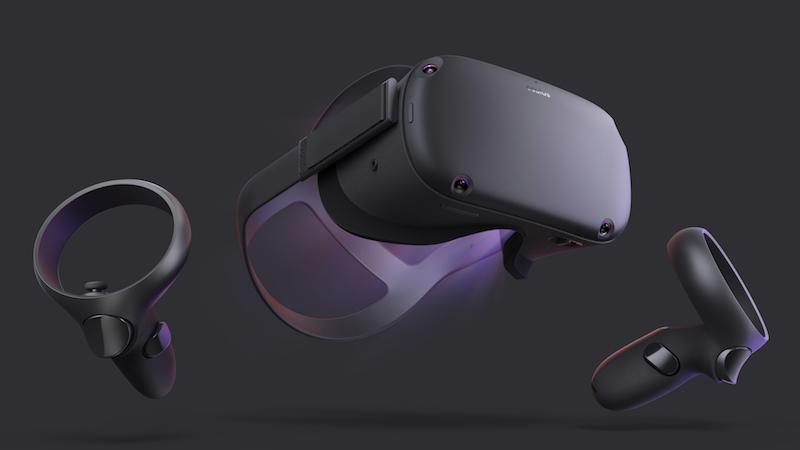 Oculus Quest standalone 6DOF headset (formerly called Project Santa Cruz)