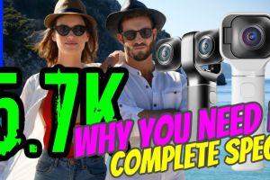 Vuze XR 5.7K 360 camera with VR180