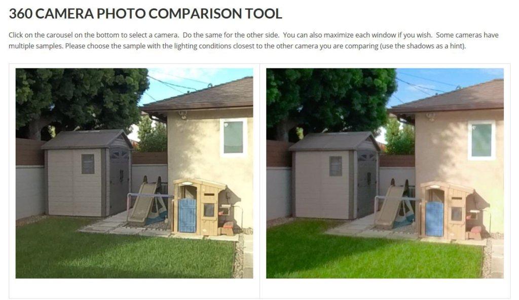 Insta360 One X non-HDR vs. Fusion 360 photo