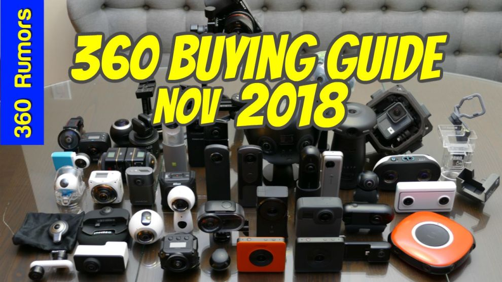 Best 360 camera buying guide November 2018
