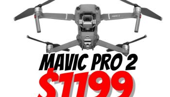 Black Friday 2018 discounts on DJI Mavic Pro 2, DJI Mavic 2 Zoom