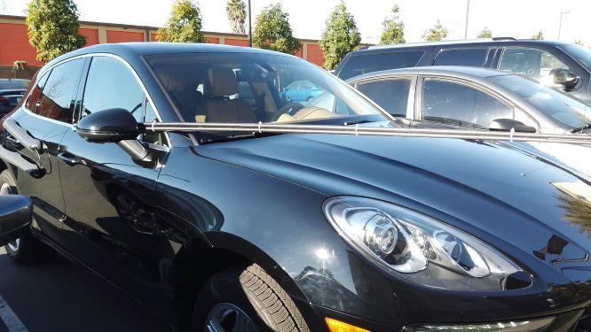 Cinematic car shots with DIY camera car / chase car camera rig