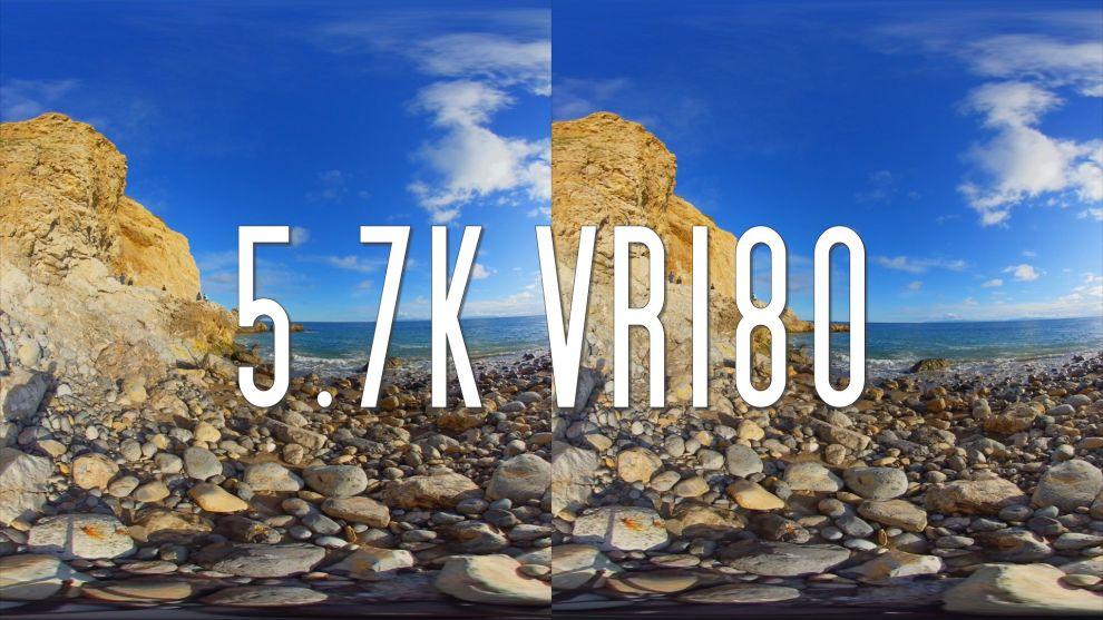 Insta360 EVO sample 3D 180 VR180 video