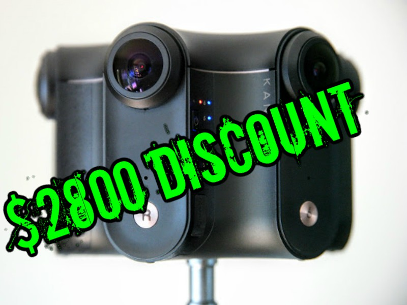 Kandao Obsidian R and Obsidian S $2800 discount