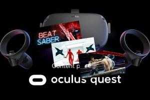 Oculus Quest launch titles