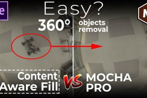content aware fill 360 video