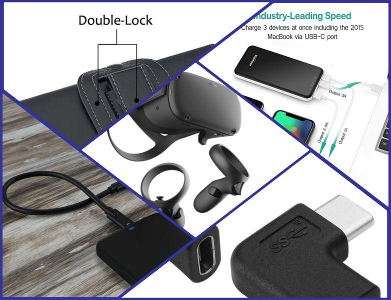 Oculus Quest battery pack extends battery life, improves comfort