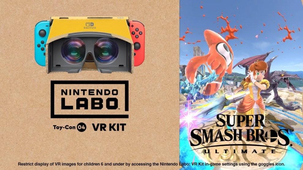 Super Smash Bros. Ultimate VR mode