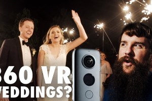 Is a 360 camera good for wedding videos?