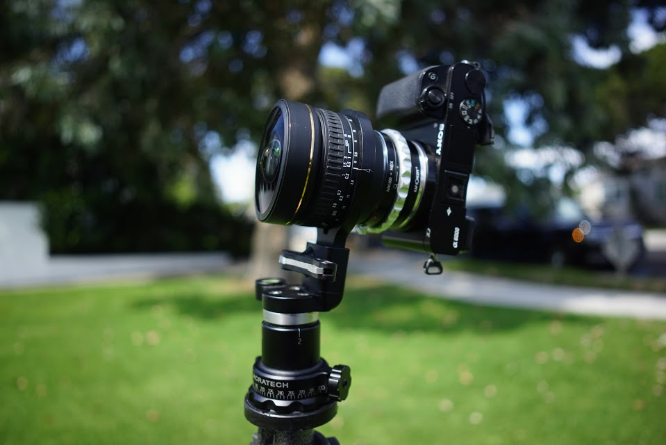 Acratech Panoramic head review for Sigma 8mm f/3.5 360 photos