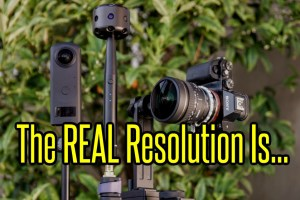 XPhase 360 camera real resoluton