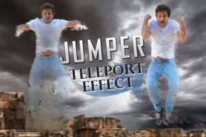 How to do Teleport effect with a 360 camera