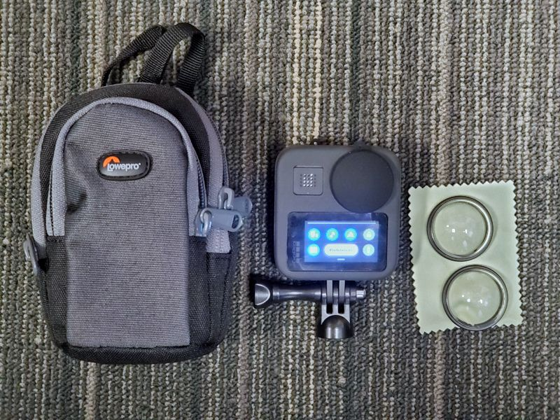 Camera case for GoPro MAX and Insta360 One X