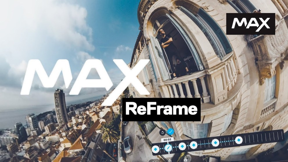 GoPro MAX reframing tutorial posted
